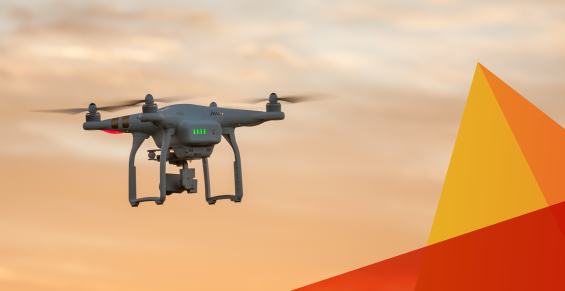 mobile asset management with drones